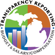 Budget and Salary Compensation Transparency Reporting Logo